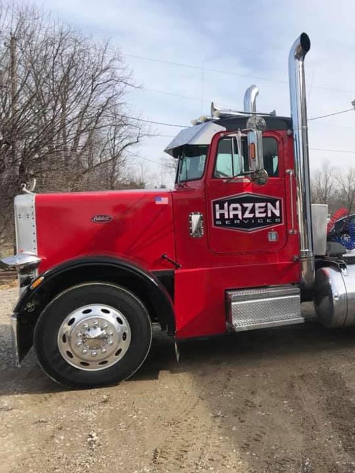 Sand, gravel, and other materials require specialty hauling services, and at Hazen Services, we can provide this service for you.