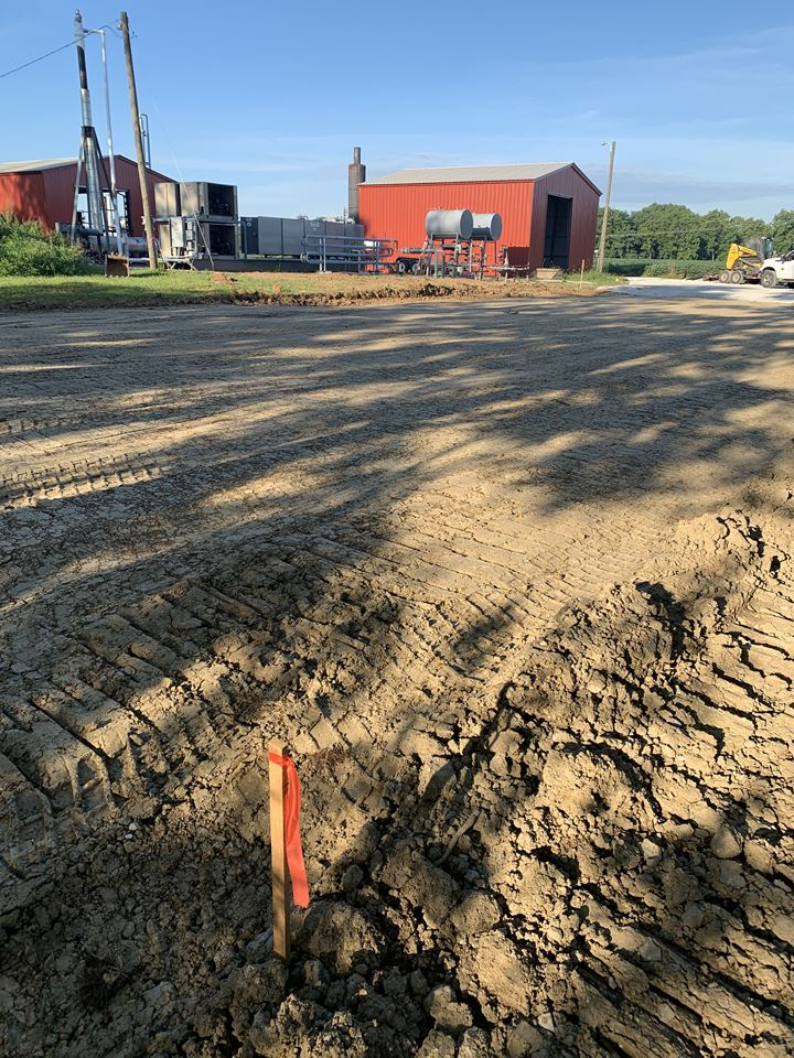Hazen Services HS MRU Site Work And Foundation Work Homer Ohio