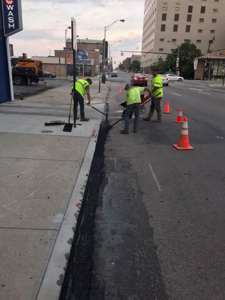 Asphalt Restoration SErvices - Asphalt Crack Filling - Near Me